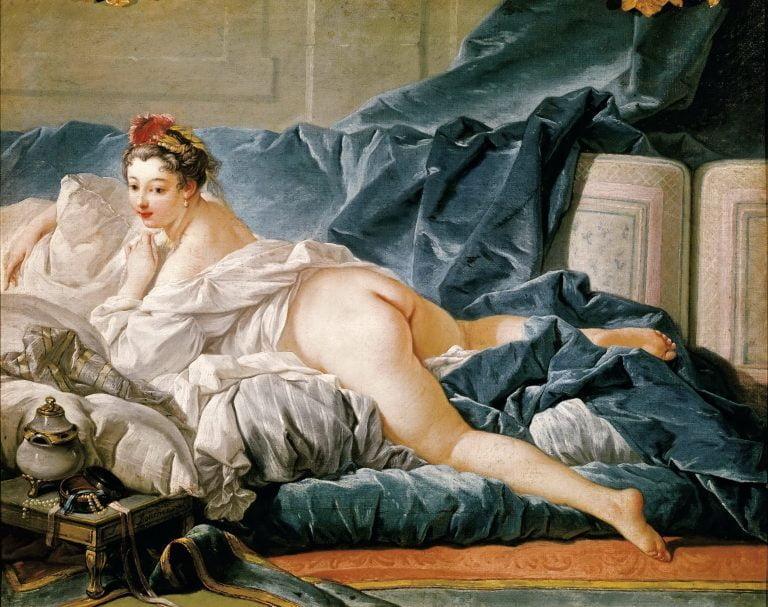 François Boucher, Braune Odaliske