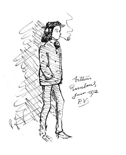Rimbaud par Verlaine.