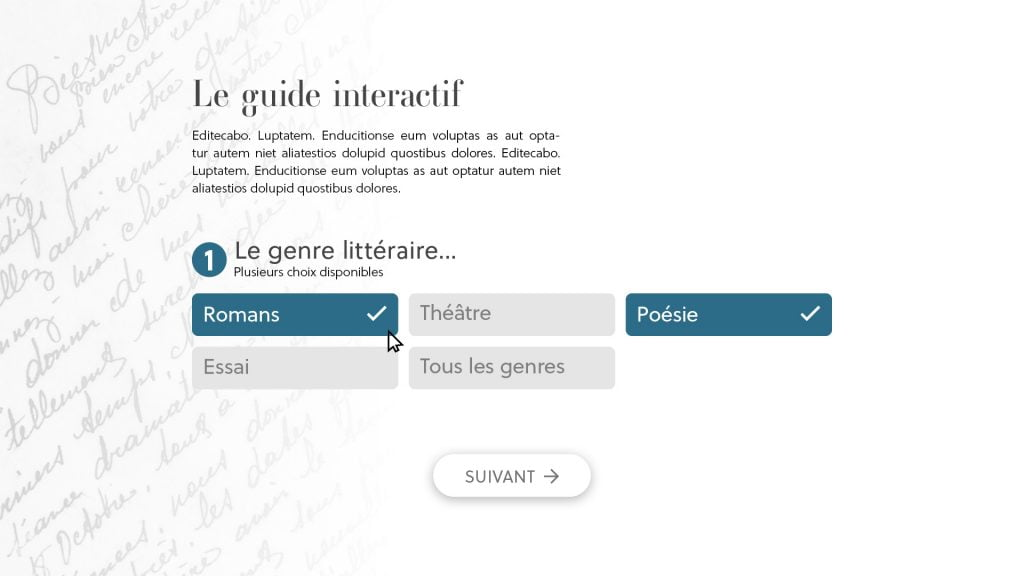 Page 1 - Approche intuitive