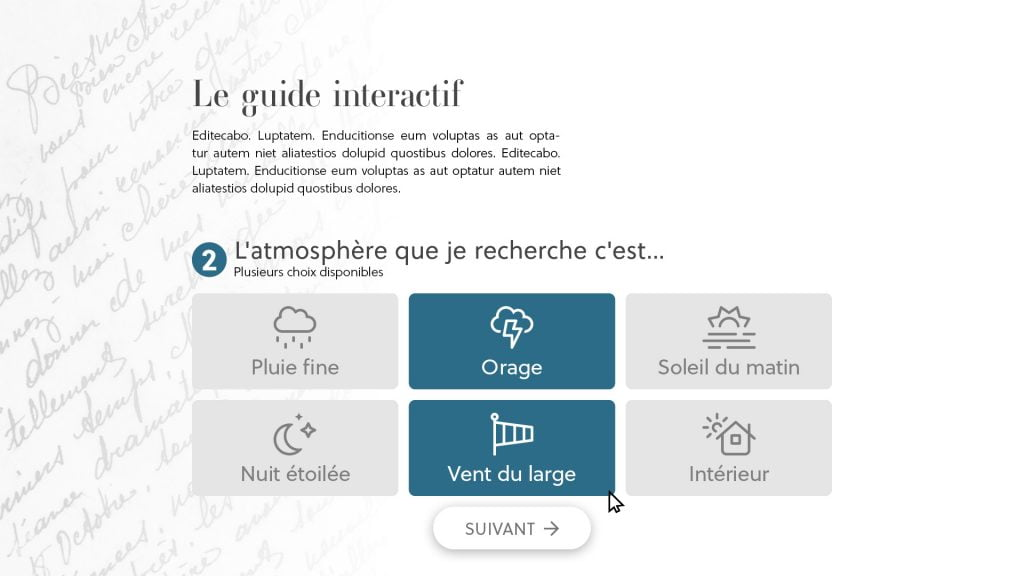Page 2 - Approche intuitive
