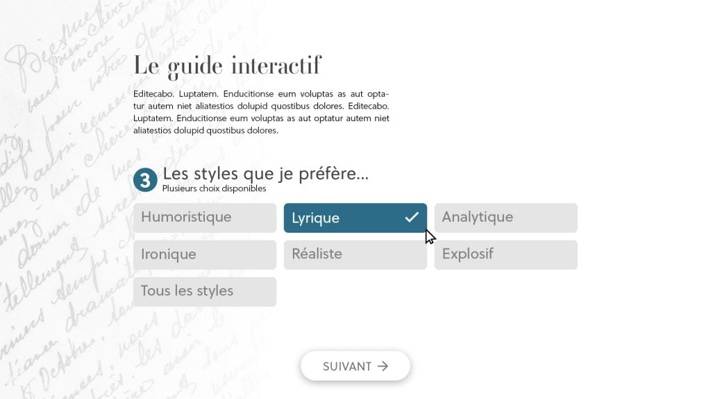 Page 3 - Approche intuitive