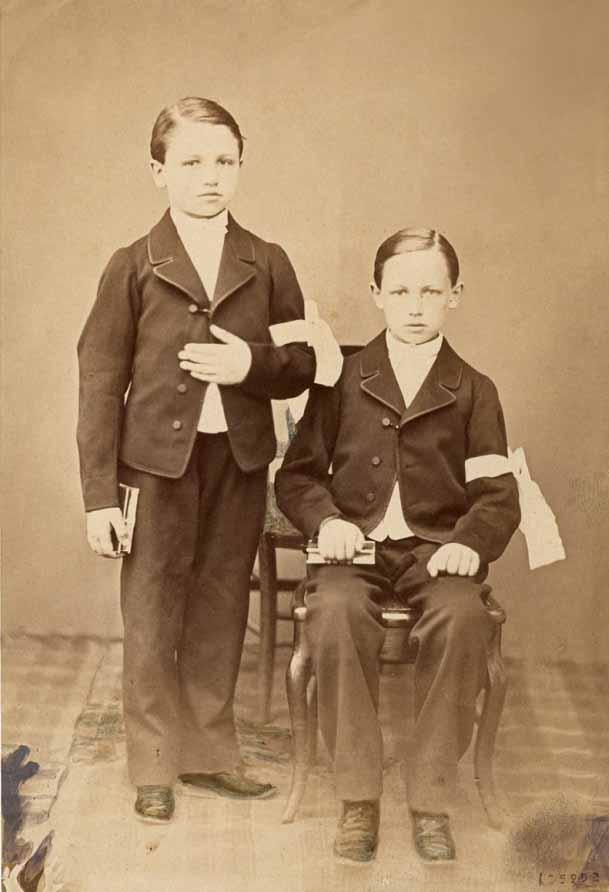 Arthur et frédéric Rimbaud