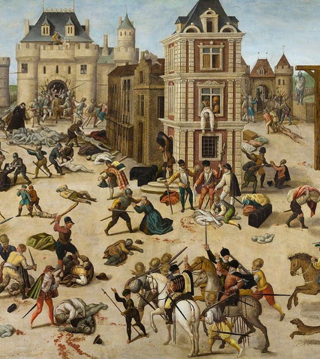 François Dubois, massacre de la Saint-Barthélémy (détail)