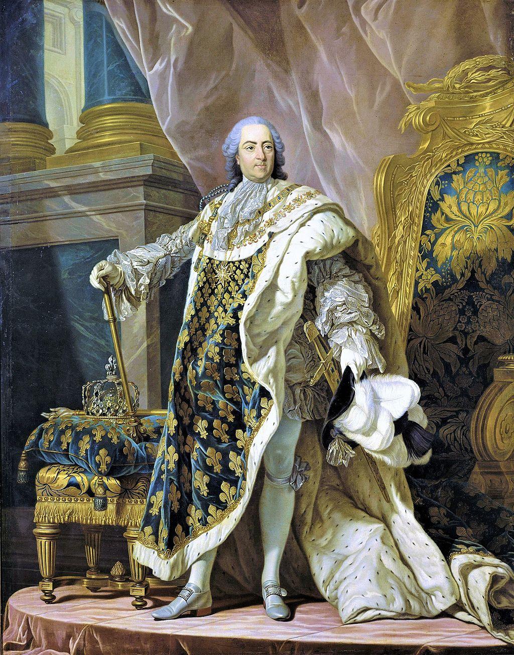 Louis XV par Van Loo, 1762