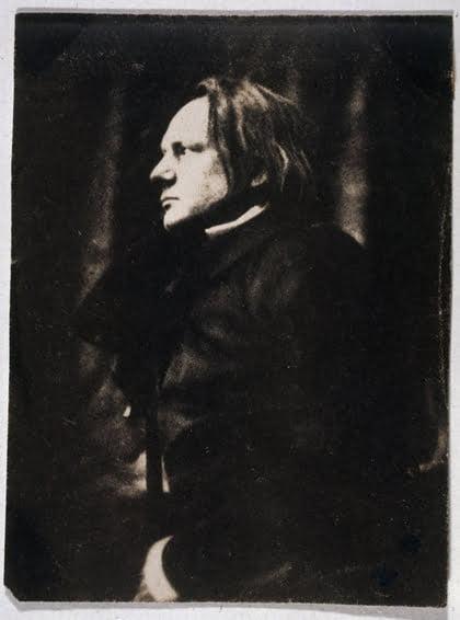 Victor Hugo en 1854, photographie d'Auguste Vacquerie