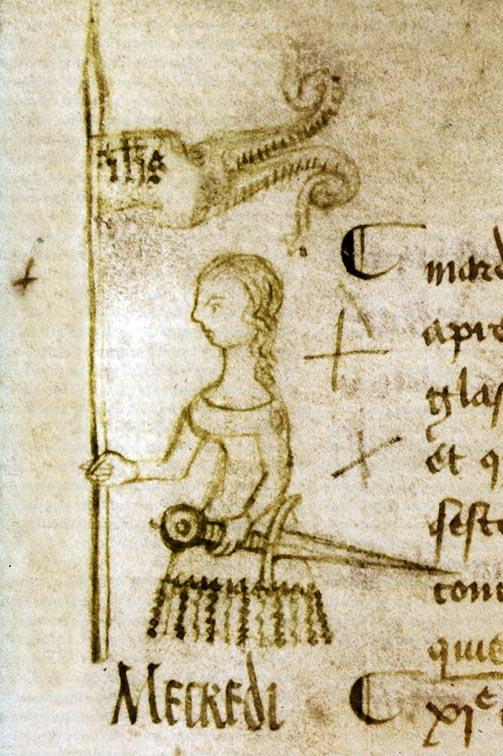 Jeanne d'Arc en 1429 par Clément de Fauquembergue