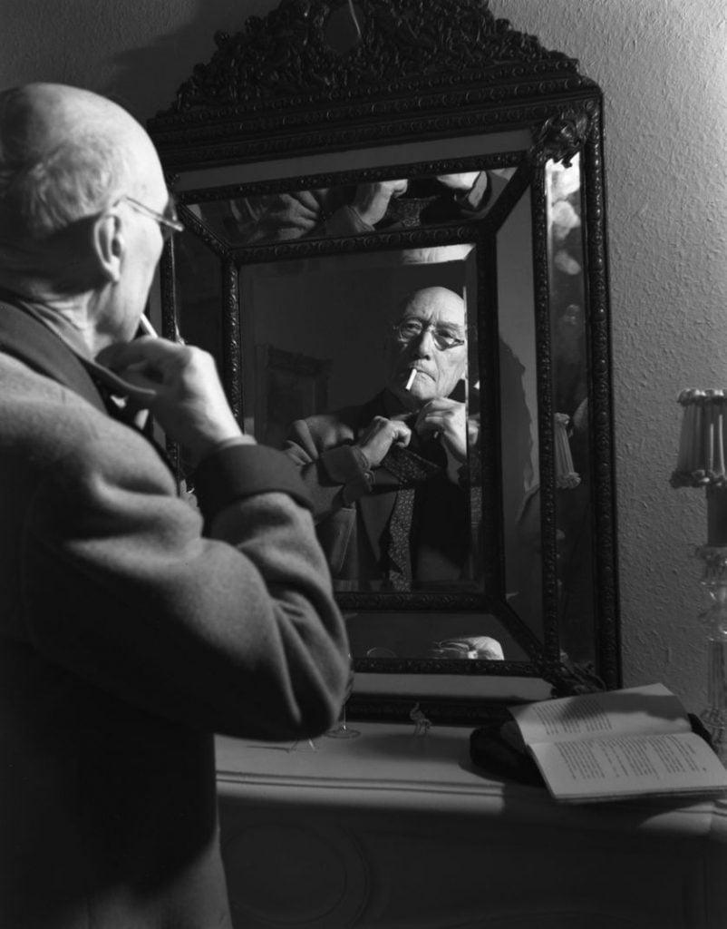 André Gide devant son miroir