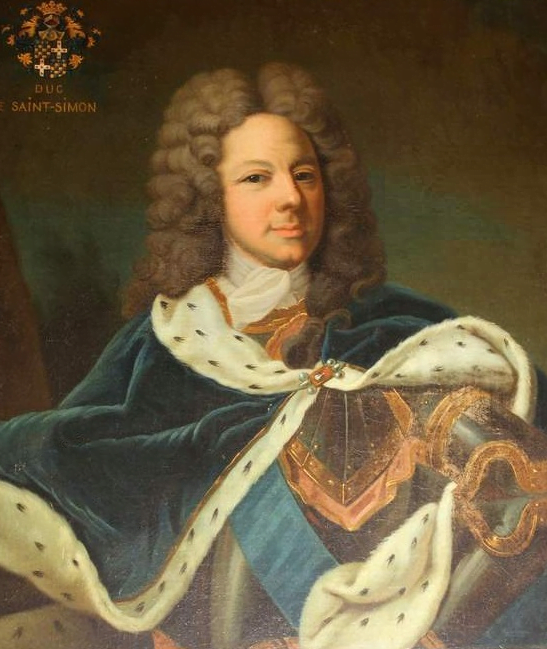 Louis de Rouvroy, duc de Saint-Simon, par Jean-Baptiste Van Loo (coll. privée)