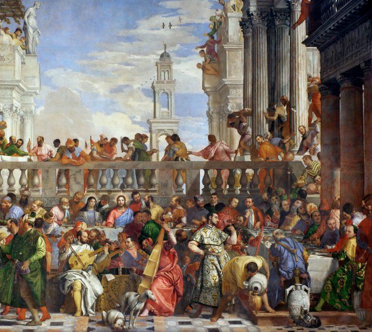 Véronèse, les noces de Cana, 1563. (détail)