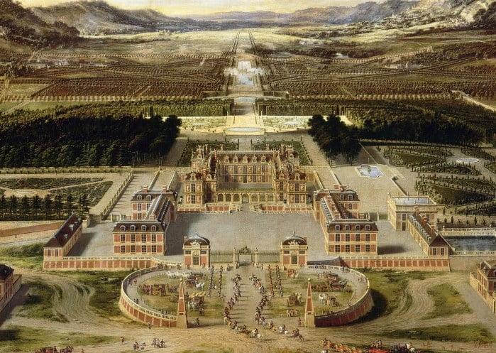 Versailles, en 1668