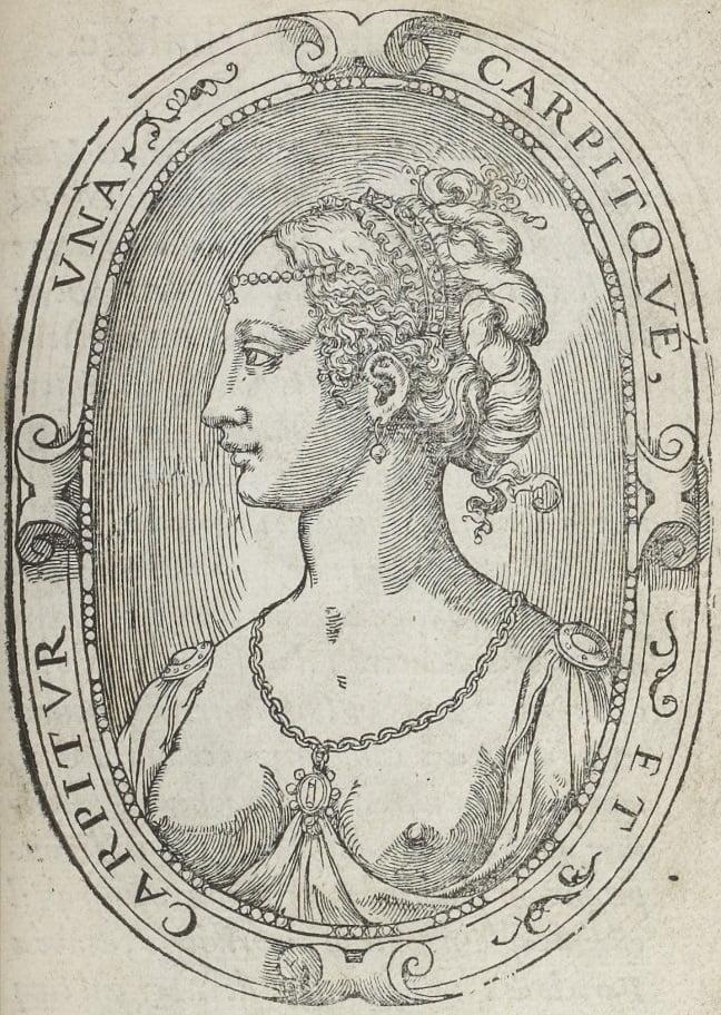 Cassandre Salviati à 20 ans