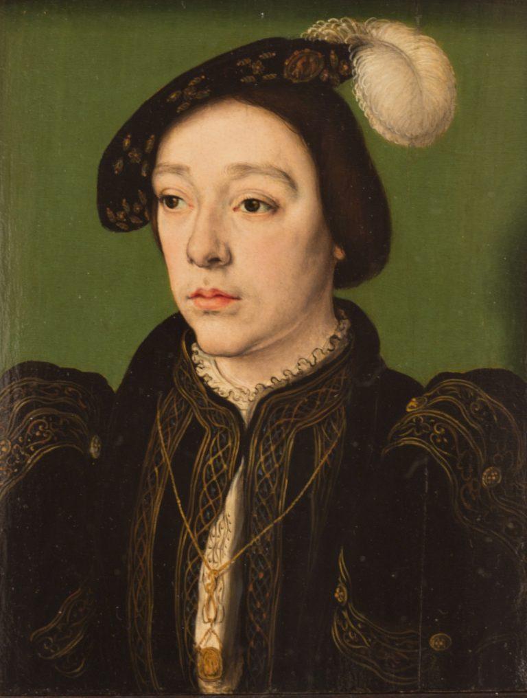 Charles d'Angoulême, par Corneille de Lyon (huile sur bois, 1536, Galerie des Offices, Florence)